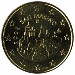 San Marino 20 en 50 cent 2008