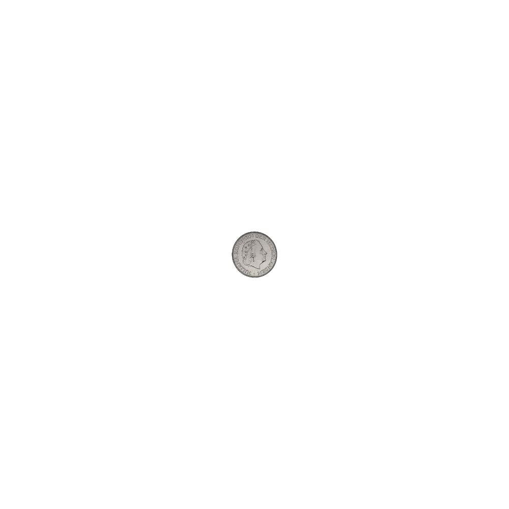Koninkrijksmunten Nederland Complete serie Juliana 2½ gulden 1959-1966 in zilver
