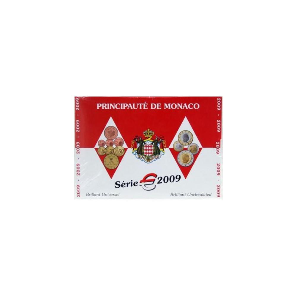 Monaco BU-Set 2009 Oplage slechts 8.000 sets!
