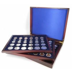 Koninkrijksmunten Nederland Alle series Beatrix 1982 t/m 2001, in luxe verzamelcassette!