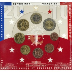 Frankrijk BU-Set 2010