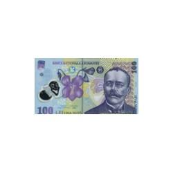 Romania100Lei (polymer)ND 2005