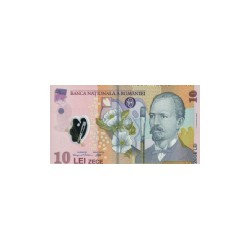 Romania10Lei (polymer)ND 2008