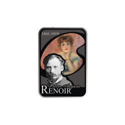 Andorra 10 Dinars 2008 Renoir (Series Painters of the world)