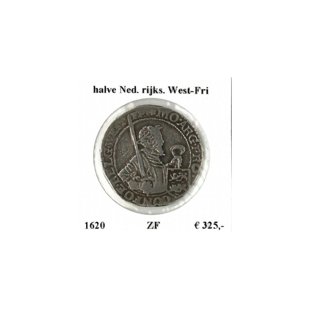 West-Friesland ½ Nederlandse rijksdaalder 1620
