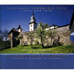 Slowakije BU-Set 2010 'Historische Regio's'