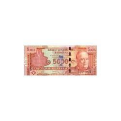 Paraguay5.000Guaranies2008