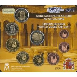 BU-set Spanje 2011 'World Money Fair Berlijn'