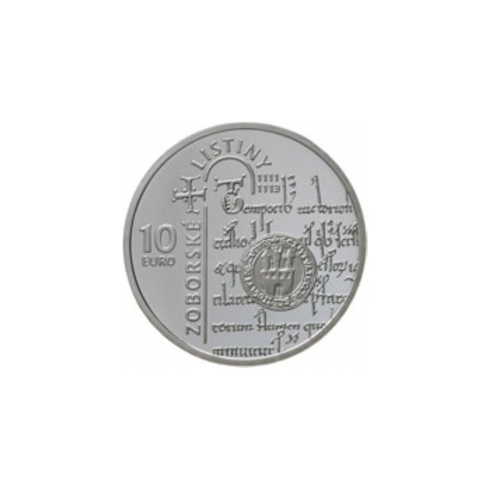Slowakije 10 euro 2011 'The Zobor Deeds'