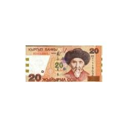 Kyrgystan20Som2002