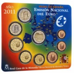 Spanje BU-Set 2011 + speciale 2 euro 'Leeuwenhof van Alhambra'