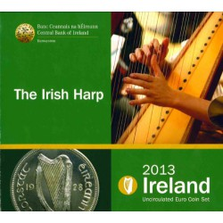 Ierland BU Set 2013 'Irish Harp'