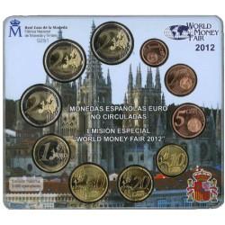 Spanje BU-Set 2012 'World Money Fair Berlijn'