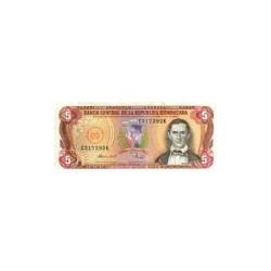 Dominican Republic5Pesos Oro84-88