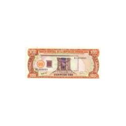 Dominican Republic100Pesos Oro1990