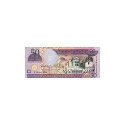 Dominican Republic50Pesos Oro2004