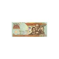 Dominican Republic100Pesos Oro2004
