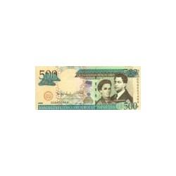 Dominican Republic500Pesos Oro2009