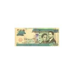 Dominican Republic500Pesos Oro2006