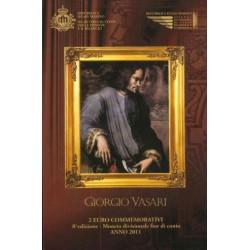 San Marino 2 euro 2011 in blister '500e verjaardag Giorgio Vasari'