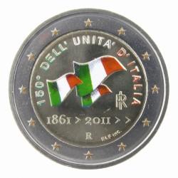T1 Italië 2011 - 2 euro '150 jaar Italiaanse Staat'