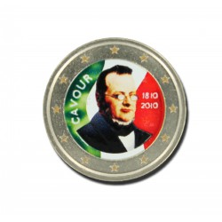 T1 Italië 2010 - 2 euro '200 jaar Count Cavour'