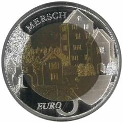 Luxemburg 5 euro 2011 'Burcht Mersch'