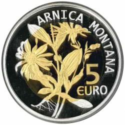 Luxemburg 5 euro 2010 'Valkruid'