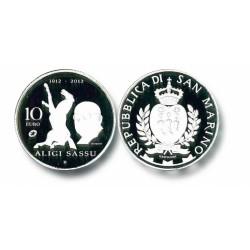 San Marino 10 euro 2012 '100e verjaardag Aligi Sassu'