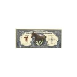 The United States Of America - 1 Million Dollars 'Horse'