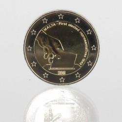 Malta 2 euro 2011 'Eerste verkiezingen 1849'