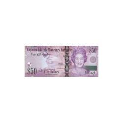 Cayman Islands 50 Dollar 2010