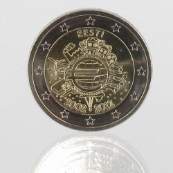 Estland 2 euro 2012 '10 jaar EURO'