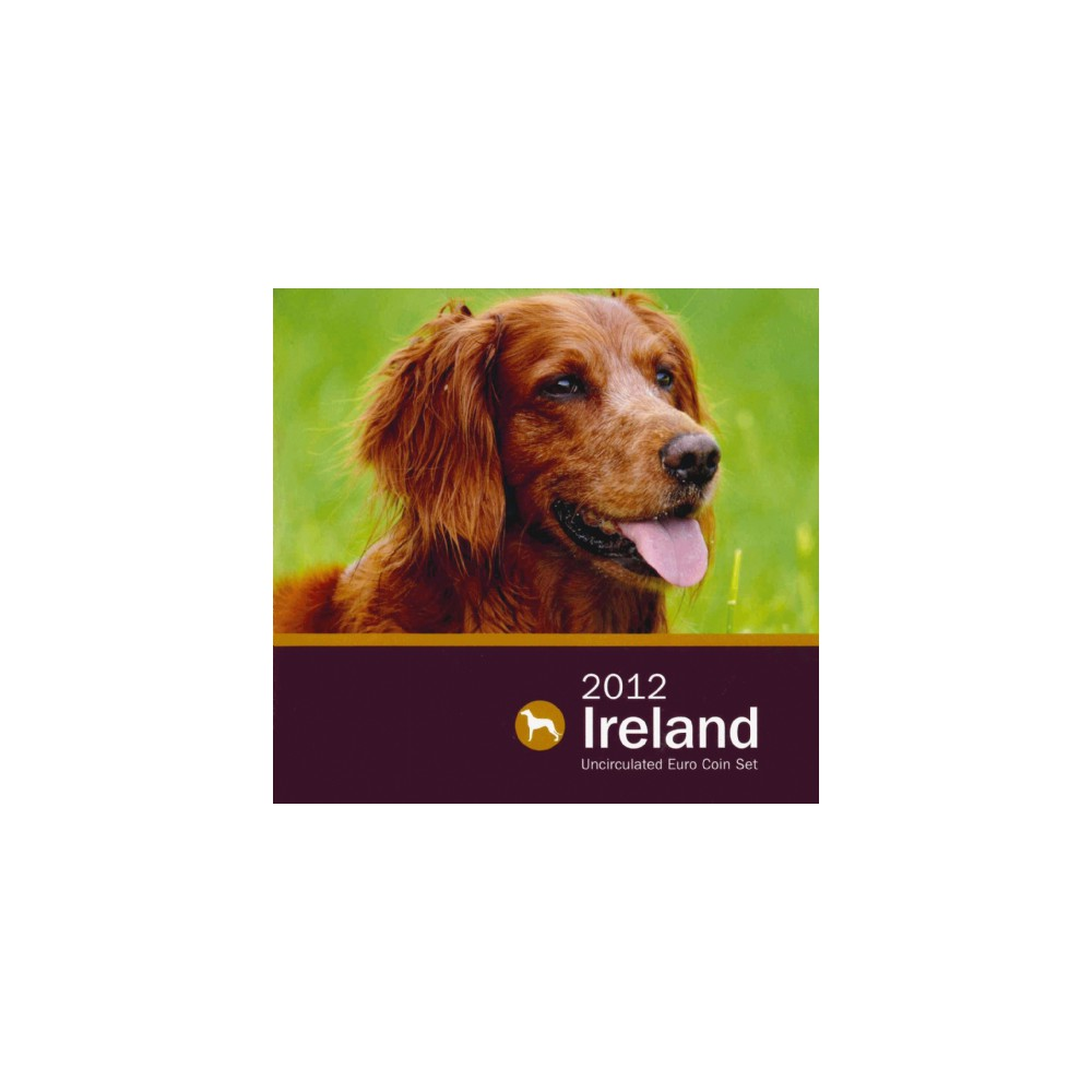 Ierland BU Set 2012 'Animals of Irish Coinage'
