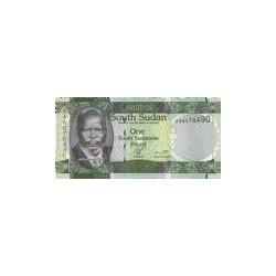 South Sudan 1 Pound 2011