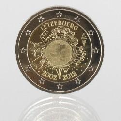 Luxemburg 2 euro 2012 '10 jaar EURO'