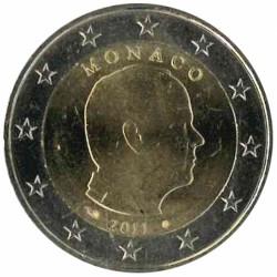 Monaco 2 euro 2011 circulatiemunt