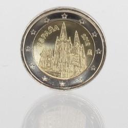 Spanje 2 euro 2012 'Burgos'