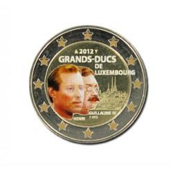 T1 Luxemburg 2012 - 2 euro'Grand-Ducs de Luxembourg'