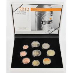 Nederland Proofset 2012 met speciale 2 euro '10 jaar Euro'