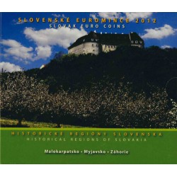 Slowakije BU-Set 2012 'Historische Regio's'