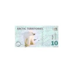 Arctic Territories 10 Dollars 2010