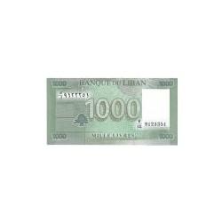 Lebanon 1000 Livres 2011