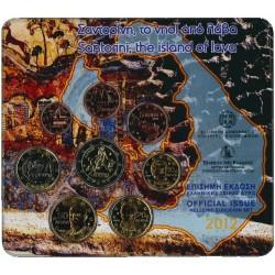 Griekenland BU-Set 2012 - Met normale 2 euromunt