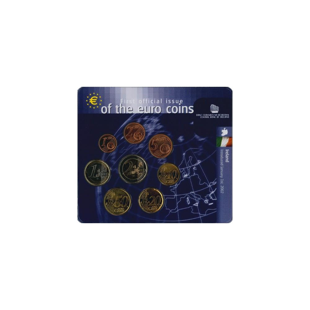 Ierland 2002 'Eerste officiele uitgifte van de euromunten'