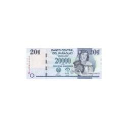 Paraguay 20.000 Guaranies ND 2007