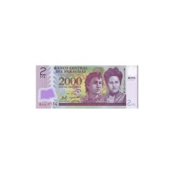 Paraguay 2000 Guaranies (Issue) ND 2008
