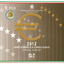 Italië BU-Set 2012 + speciale 2 euro 2012