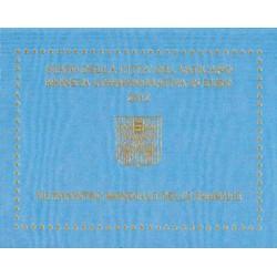 Vaticaan 2 euro 2012 in blister '7e Wereld Familiedag'