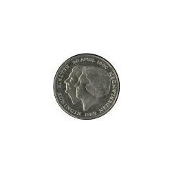 Koninkrijksmunten Nederland 2½ gulden 1980 Dubbele Kop 'Juliana  & Beatrix'